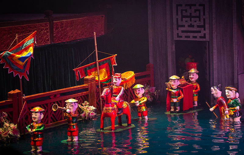 Thang Long water puppet-theatre